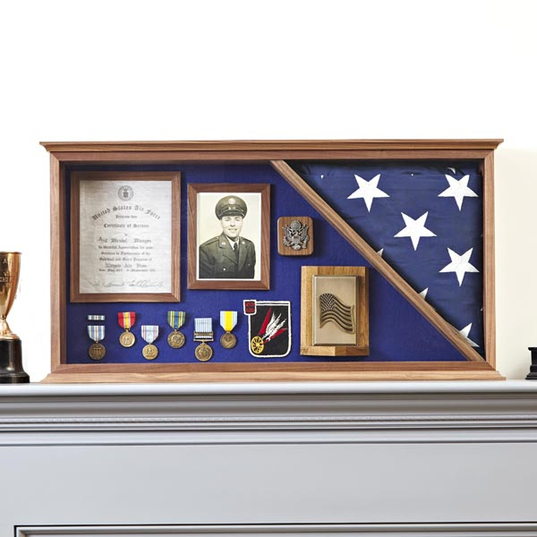Military Memories Display Case