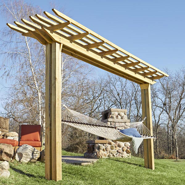 Double-feature Pergola