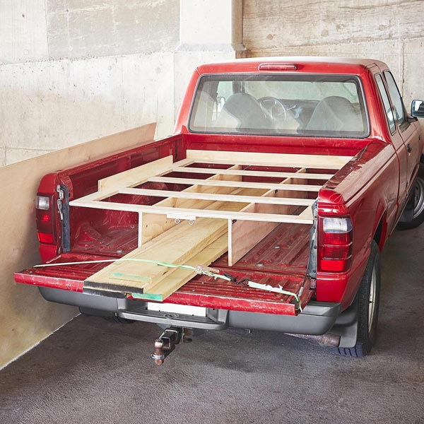 Pickup Truck Sheet-goods Rack