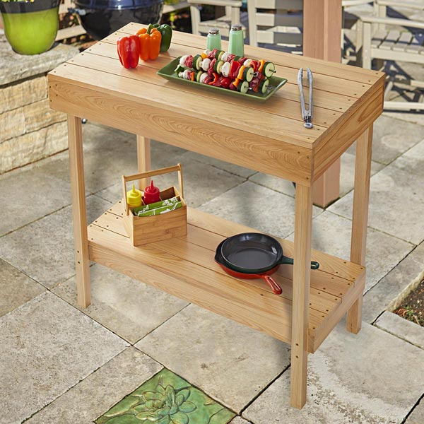 Collapsible Grill Table