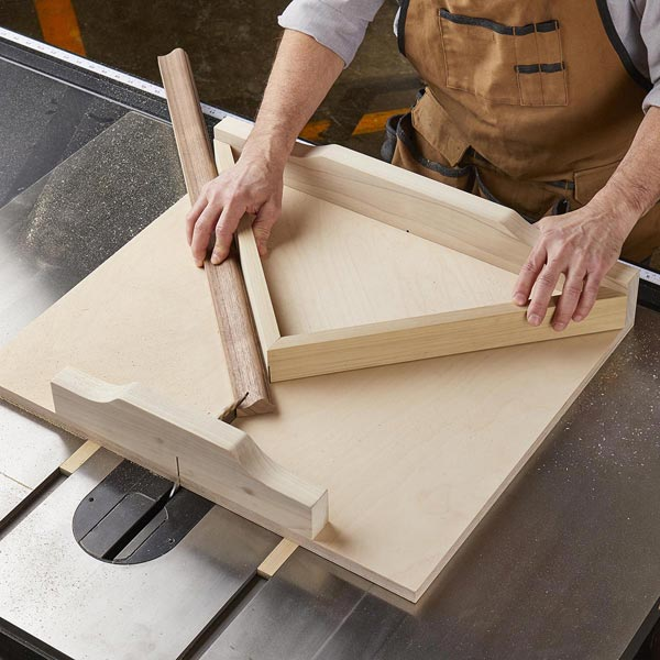 Perfect-cut Tablesaw Sled