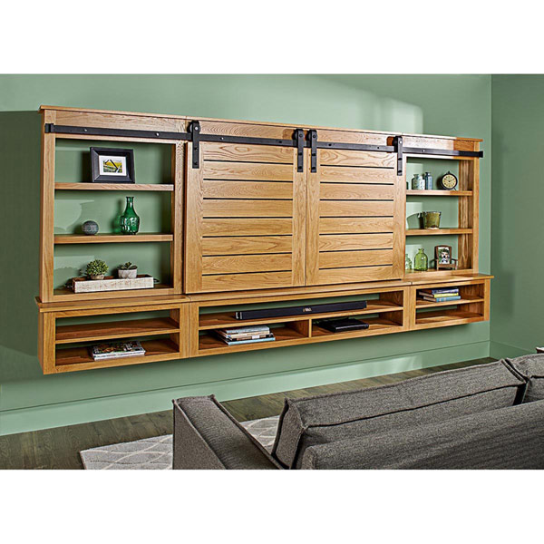 Barndoor Entertainment Center