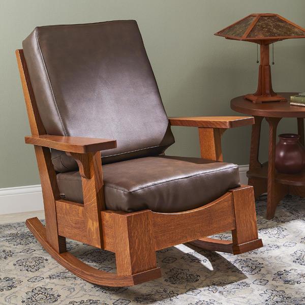 Limbert-style Rocking Chair