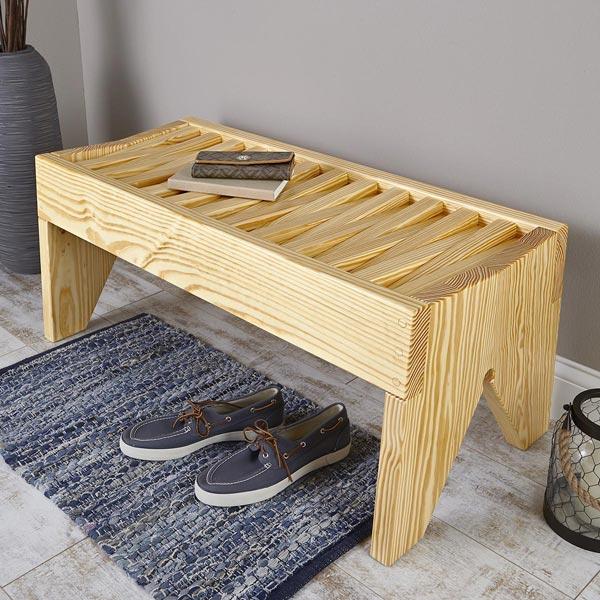Angle-seat Bench