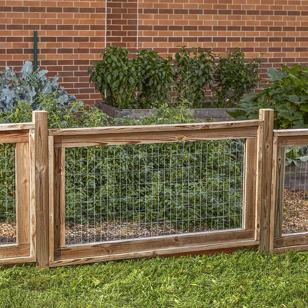 Simply Stylish Garden Fence