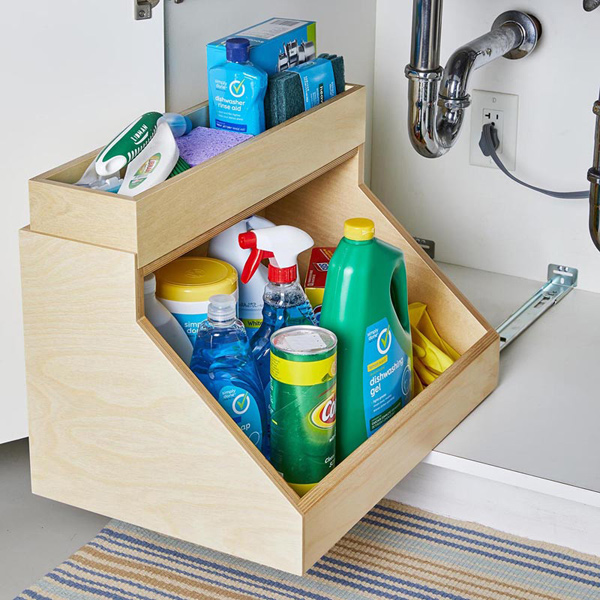 Accessible Under-Sink Storage