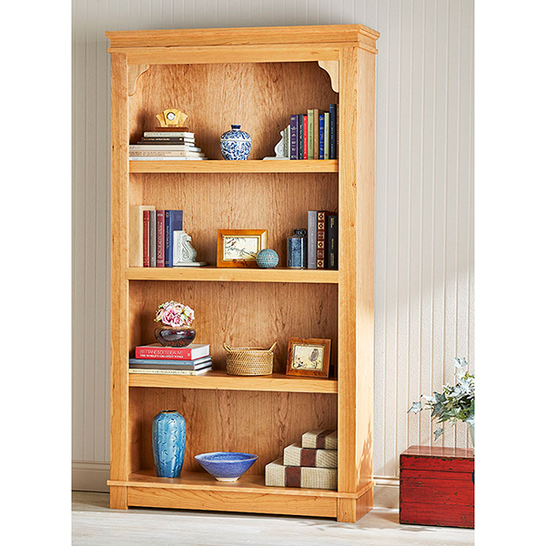 Hidden-Drawer Bookcase