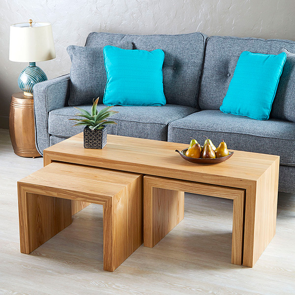 Nesting Tables for setting or seating