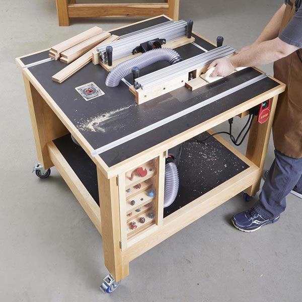 Double Router Table