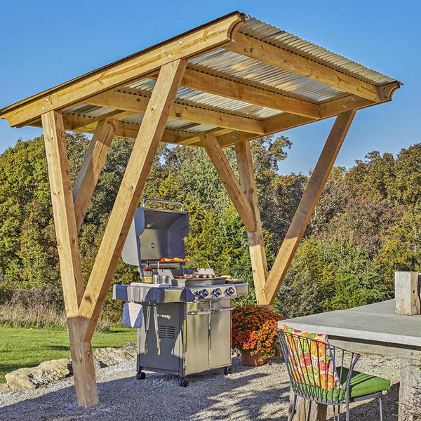 Sun-blocking Cookout Canopy