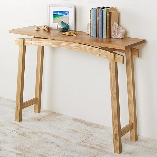 Timeless Style Hall Table