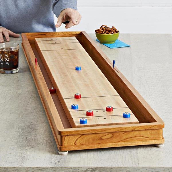 Tabletop Shuffleboard Woodworking Plan