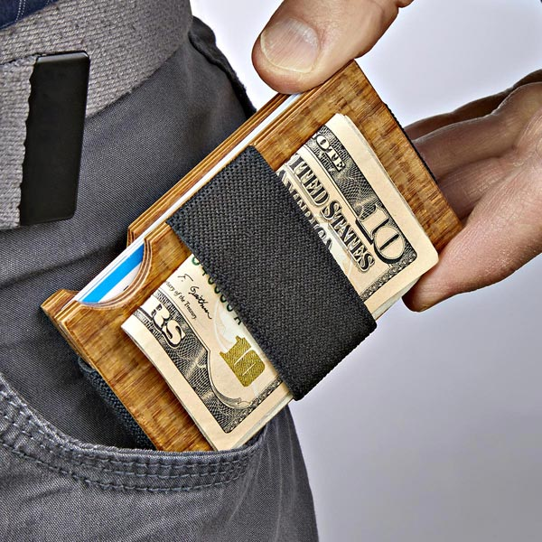 Minimalist Wallet Woodworking Plan