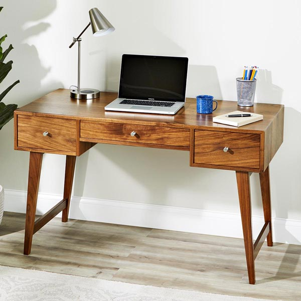 Modern Desk Woodworking Plan