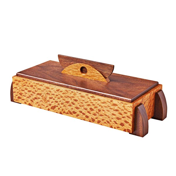 Decorative Keepsake Box Woodworking Plan