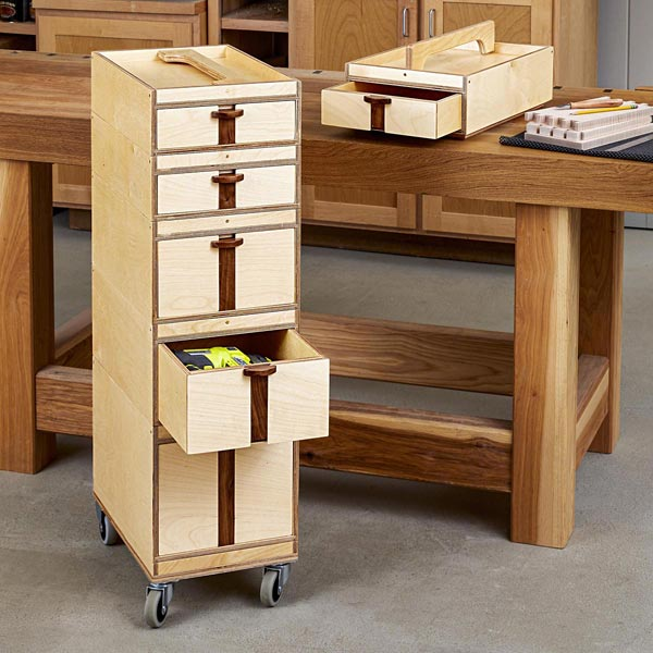 Pack & Stack Storage System Woodworking Plan