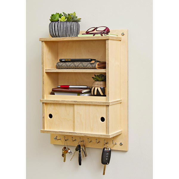 Entryway Catchall Woodworking Plan