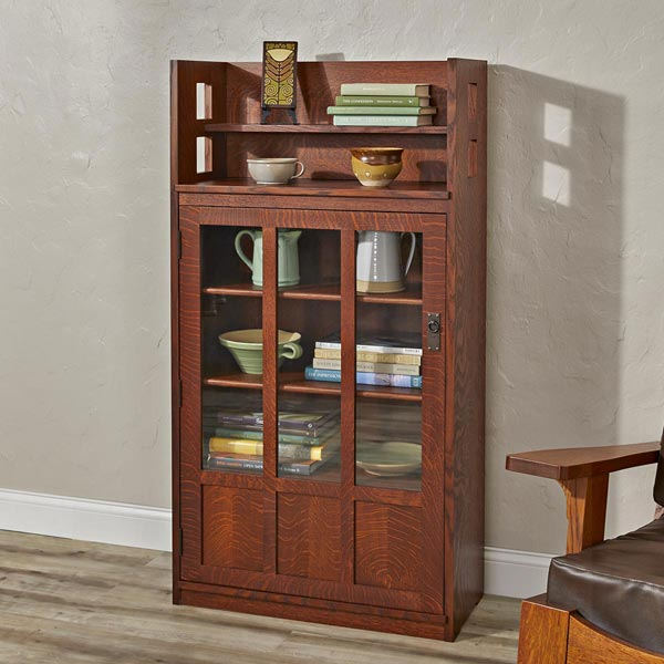 Heritage Bookcase Woodworking Plan