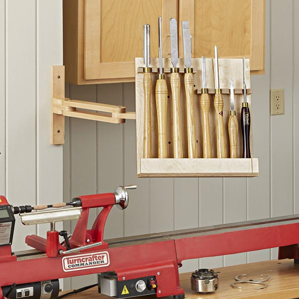 Articulated Lathe Tool Holder Woodworking Plan