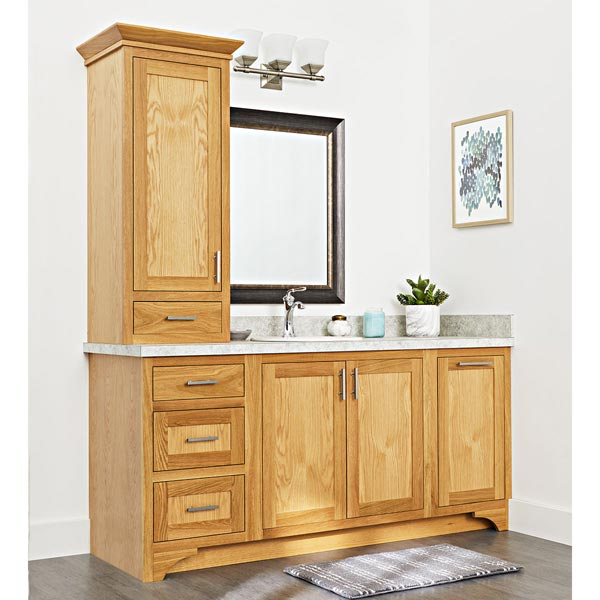 Bathroom Cabinet Buildout Woodworking Plan