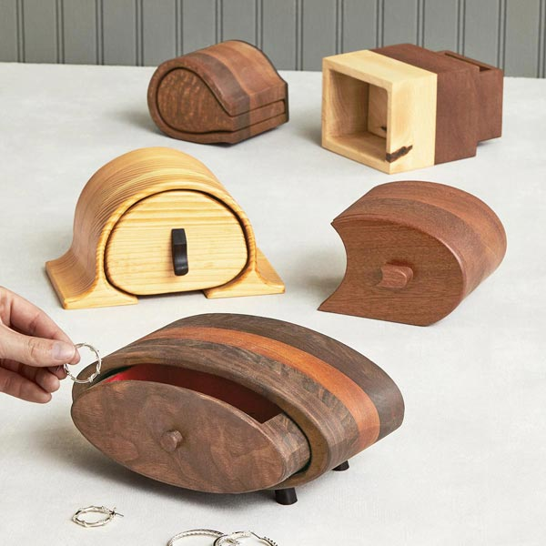 Beautiful Bandsaw Boxes Woodworking Plan