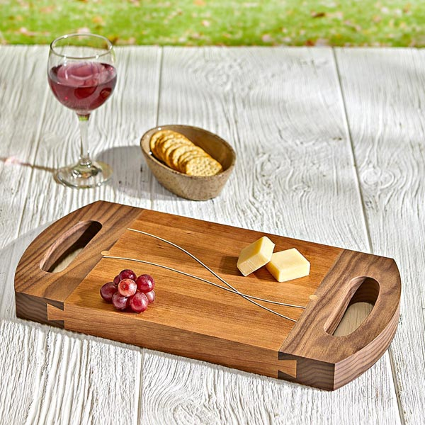 Sinuous Serving Tray Woodworking Plan