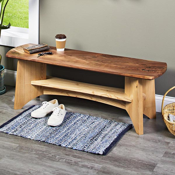 Beefy and Beautiful Bench Woodworking Plan