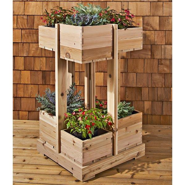 Vertical Garden Woodworking Plan