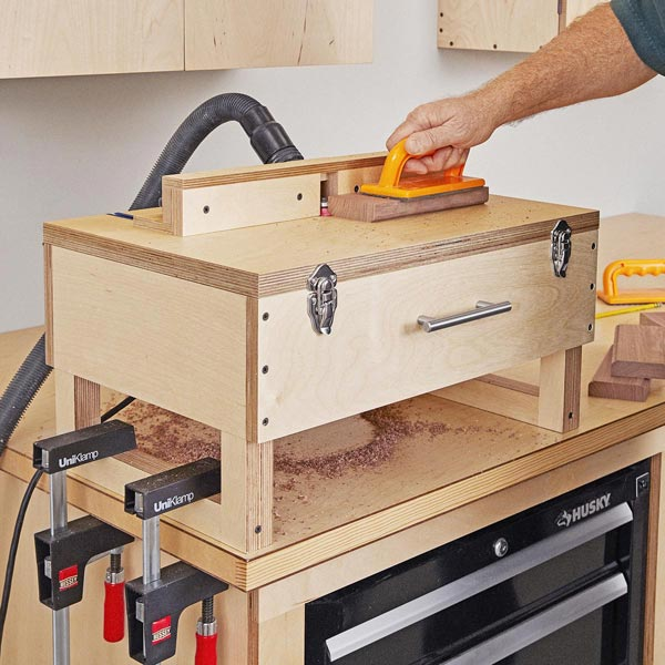 Briefcase Router Table Woodworking Plan