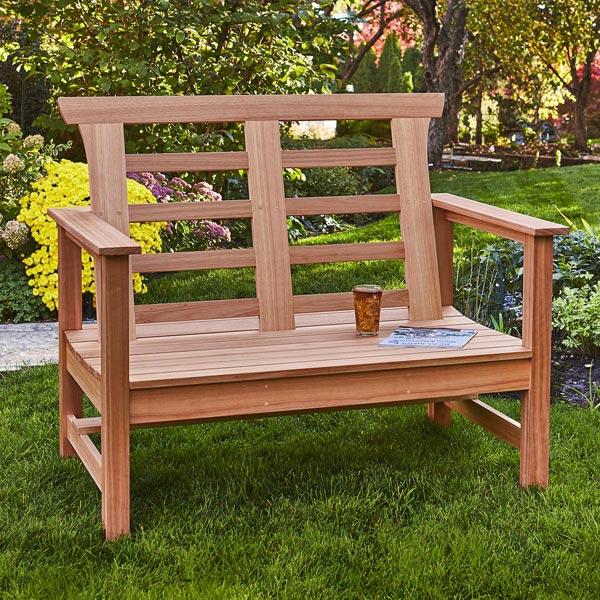 Outdoor Bench Woodworking Plan