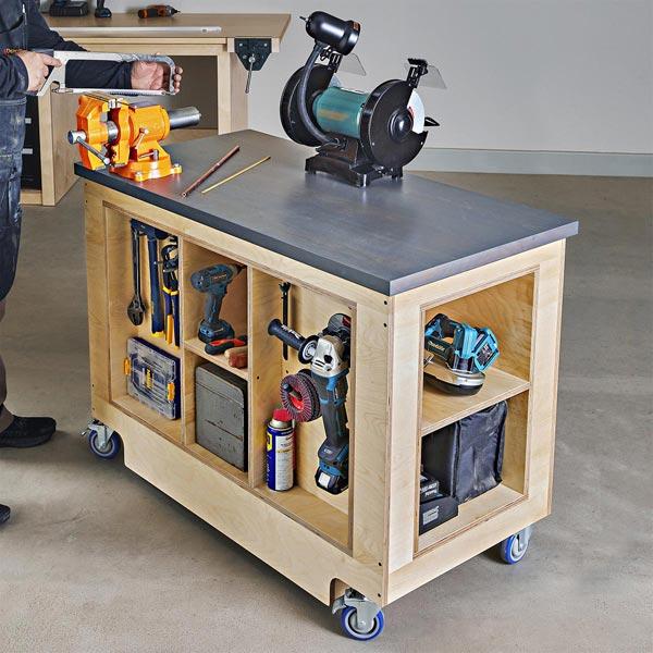Everyday DIY Workbench Woodworking Plan