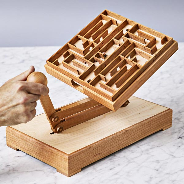 Rock 'n' Roll Maze Game Woodworking Plan