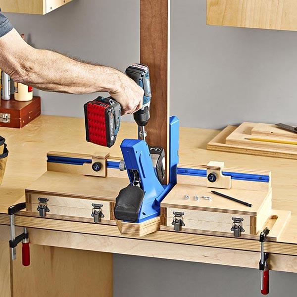 Pocket Hole in One Organizer Woodworking Plan