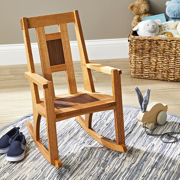 Heirloom Child's Rocking Chair Woodworking Plan