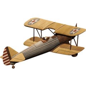 Antique Plane Intarsia Pattern