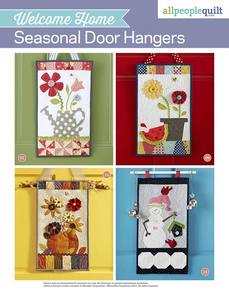 Welcome Home: Seasonal Door Hangers