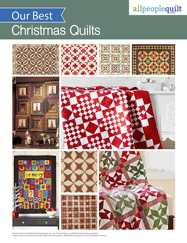 10 Festive Christmas Quilts