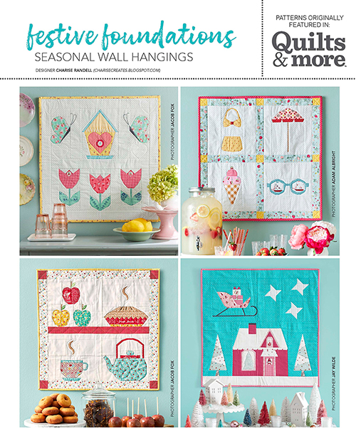 Festive Foundations Seasonal Wall Hangings from Quilts & More