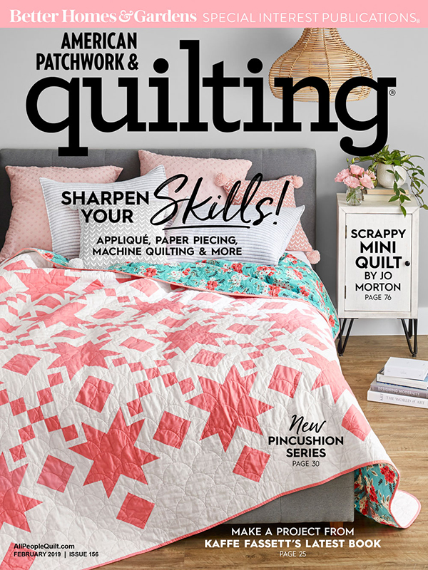 American Patchwork & Quilting February 2019, Issue 156