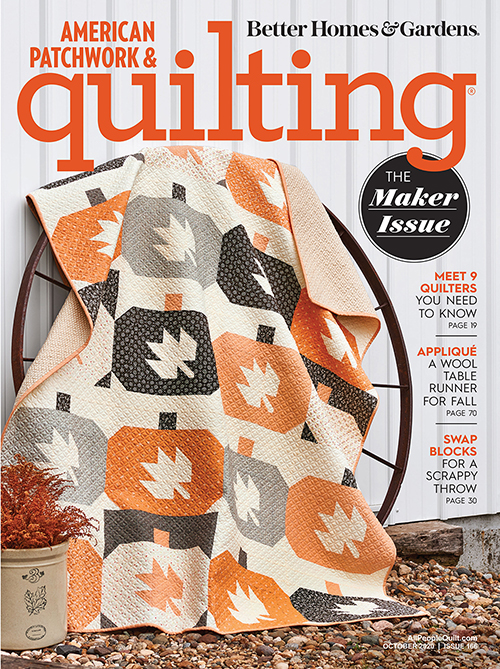 American Patchwork & Quilting October 2020