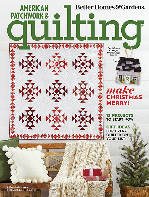 American Patchwork & Quilting December 2020