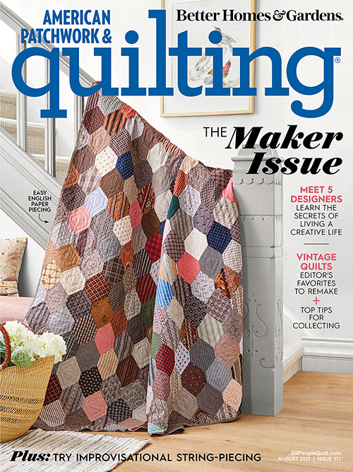American Patchwork & Quilting August 2021