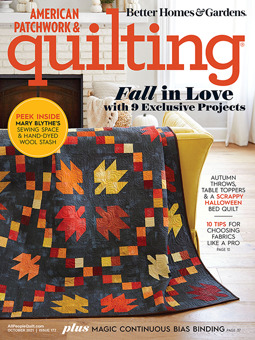 American Patchwork & Quilting October 2021