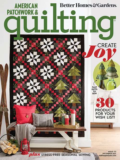 American Patchwork & Quilting December 2021