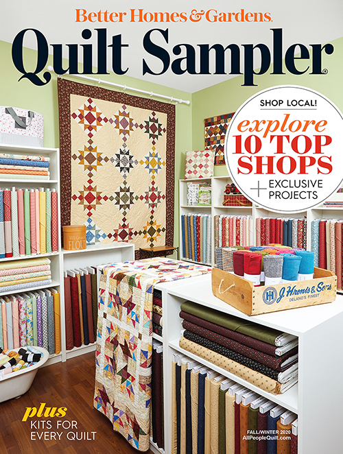 Quilt Sampler Fall/Winter 2020