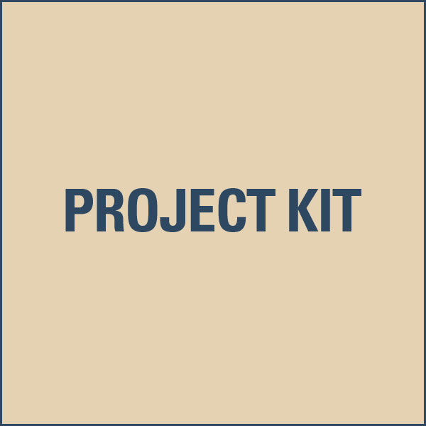 Arts & Crafts Clock Project Kit