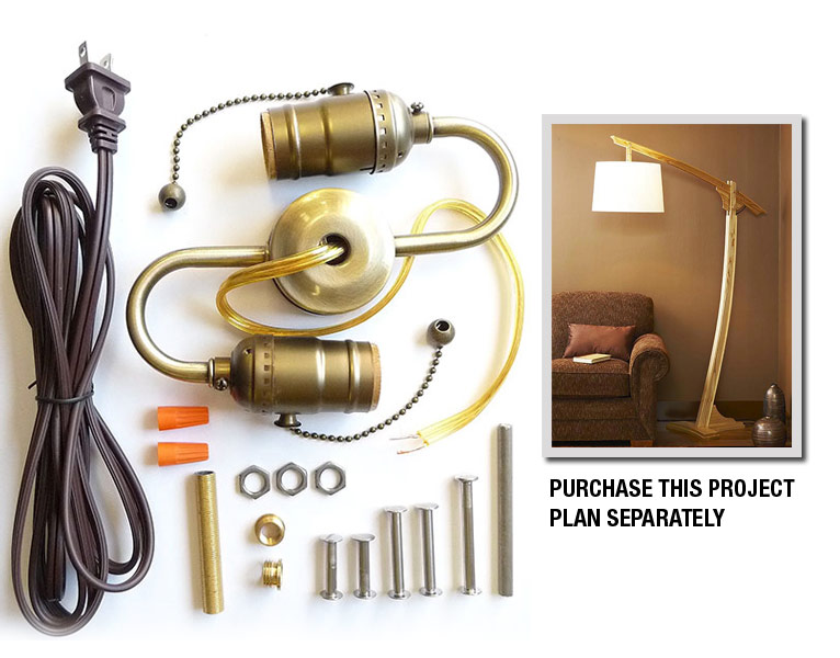 Adjustable-Arm Floor Lamp Project Kit