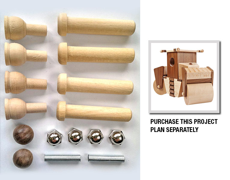 Construction-Grade Roller Project Kit