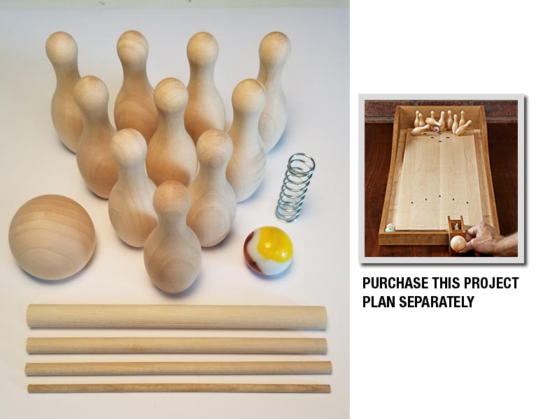 Tabletop Bowling Game Project Kit