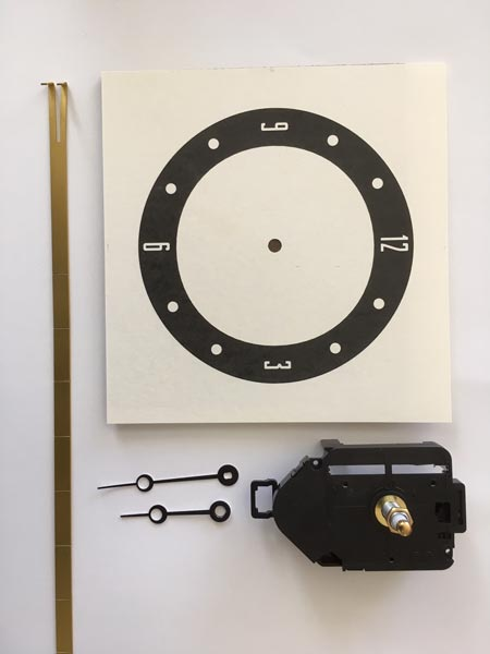 Wall Clock Project Kit